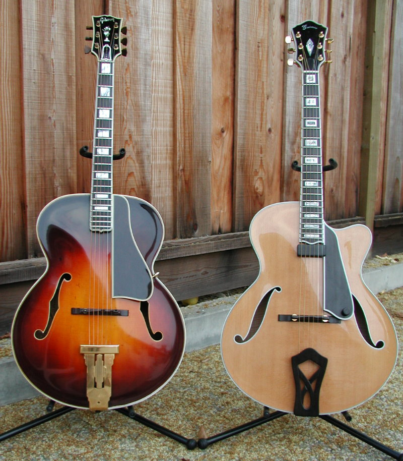 Gibson L-5           and Grimes Montreux